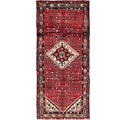 Link to 115cm x 250cm Hossainabad Persian Runner Rug