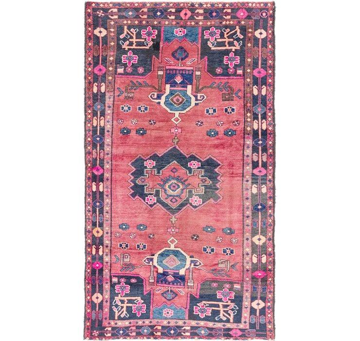 4' 4 x 8' 2 Hamedan Persian Rug