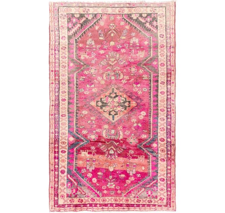 4' 6 x 7' 3 Hamedan Persian Rug