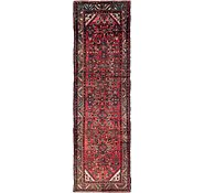 Link to 102cm x 345cm Hossainabad Persian Runner Rug