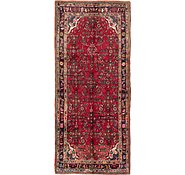 Link to 3' 10 x 8' 10 Hossainabad Persian Runner Rug