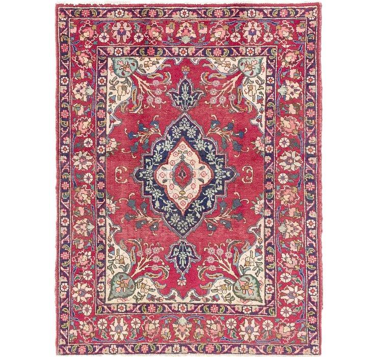 4' 9 x 6' 3 Tabriz Persian Rug