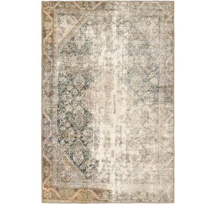 4' x 6' 3 Ultra Vintage Persian Rug