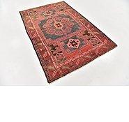 Link to 4' 6 x 7' Zanjan Persian Rug