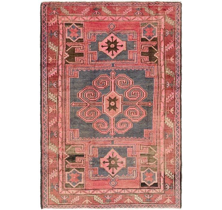 4' 6 x 7' Zanjan Persian Rug