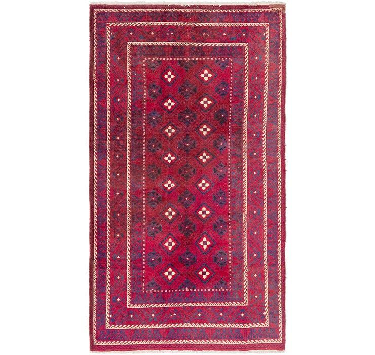4' 4 x 6' 8 Ferdos Persian Rug