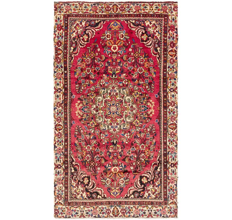 4' 10 x 8' 6 Borchelu Persian Rug