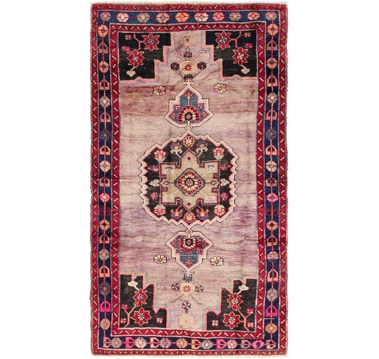 4' 3 x 7' 10 Hamedan Persian Rug