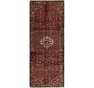 Link to 110cm x 292cm Hossainabad Persian Runner Rug