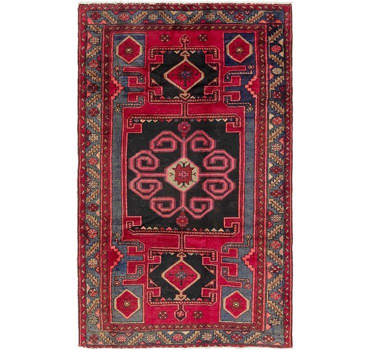4' 4 x 7' Zanjan Persian Rug