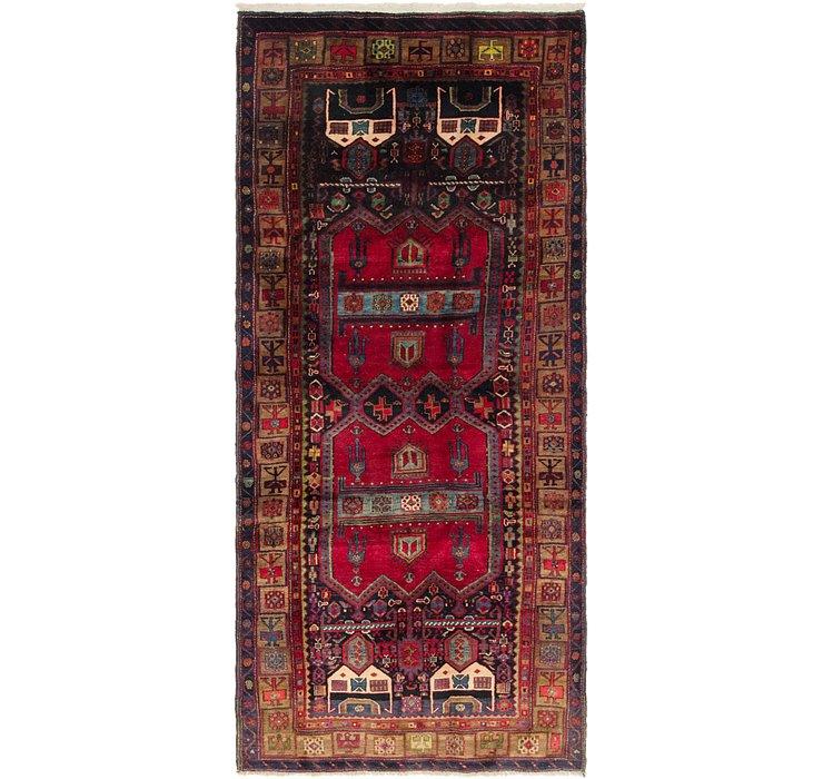 4' 3 x 9' 8 Sirjan Persian Runner Rug