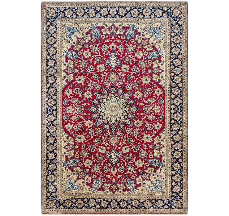 8' 8 x 12' 4 Isfahan Persian Rug