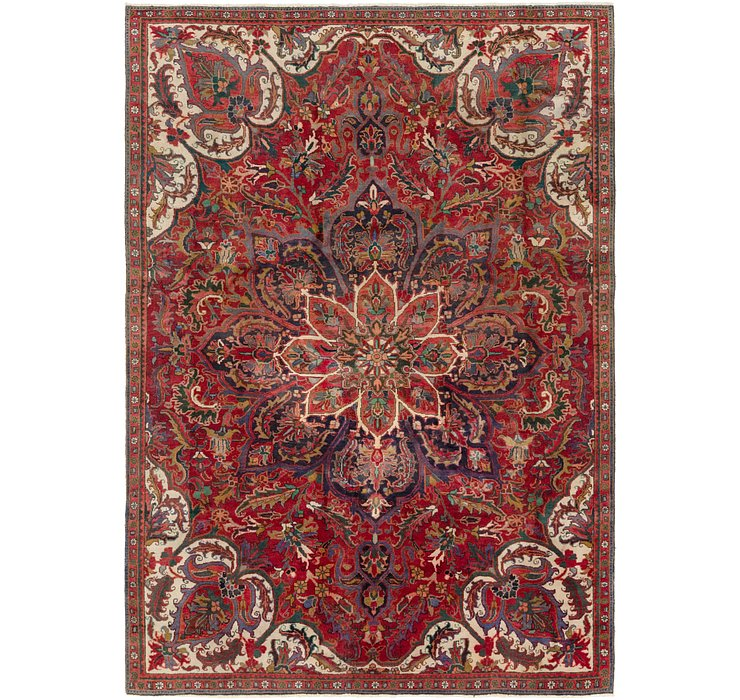 7' 6 x 10' 8 Heriz Persian Rug