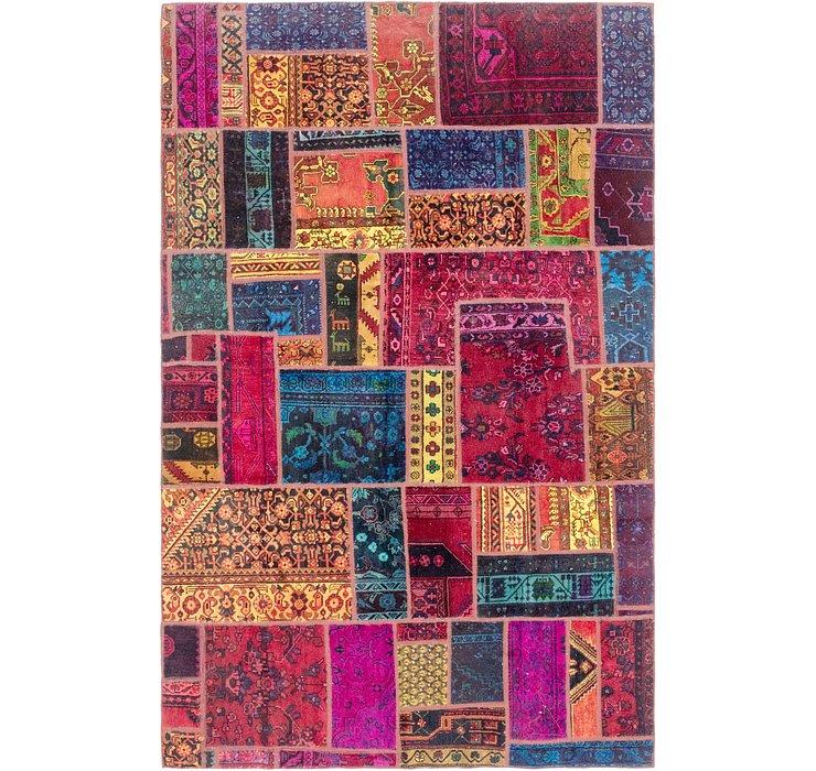 6' 6 x 10' Ultra Vintage Persian Rug
