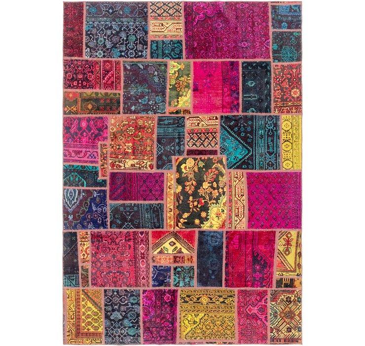 6' 7 x 9' 7 Ultra Vintage Persian Rug