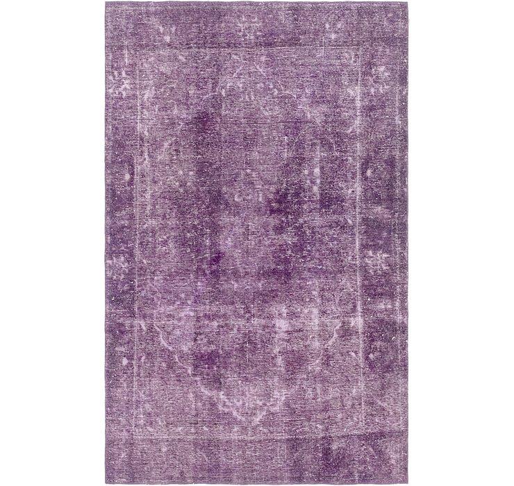 5' 10 x 9' 3 Ultra Vintage Persian Rug