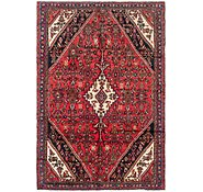 Link to 6' 6 x 9' 9 Hamedan Persian Rug