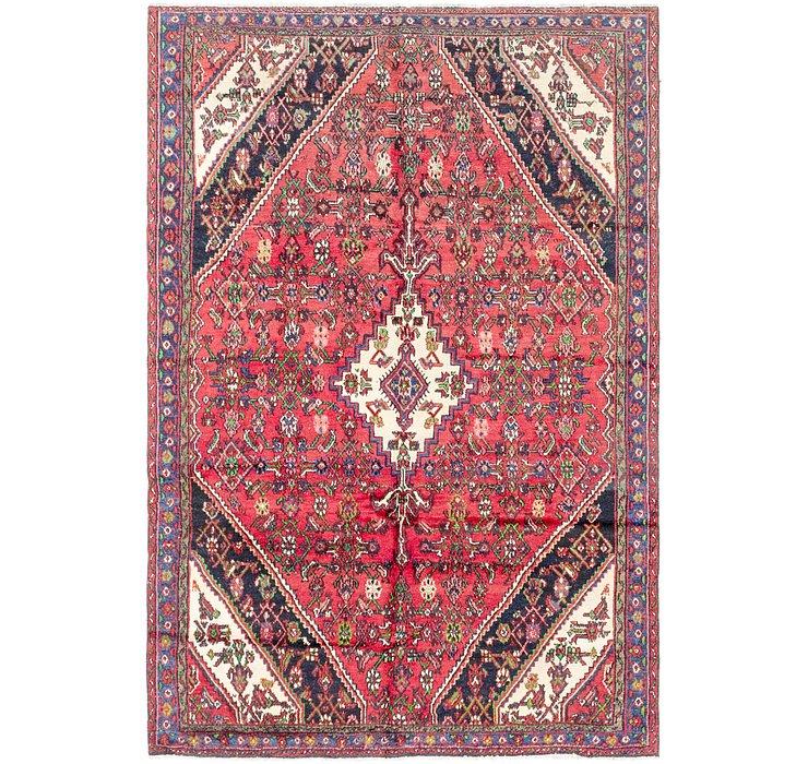 6' 6 x 9' 9 Hamedan Persian Rug