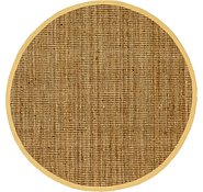 Link to 213cm x 213cm Braided Jute Round Rug