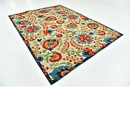 Link to 240cm x 320cm Outdoor Botanical Rug