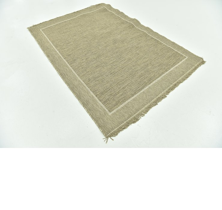 5' x 7' Outdoor Border Rug