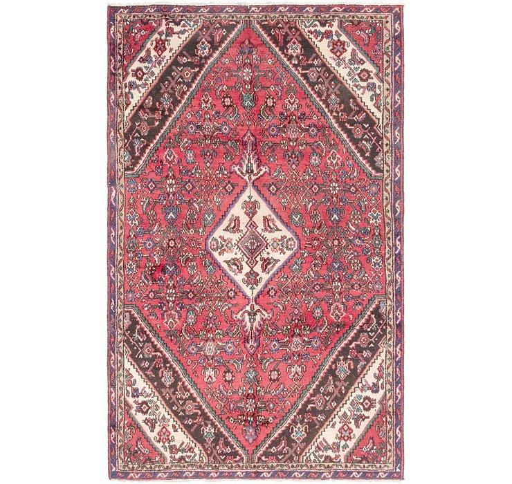 163cm x 267cm Hamedan Persian Rug