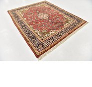 Link to 6' 10 x 8' 2 Shahrbaft Persian Square Rug