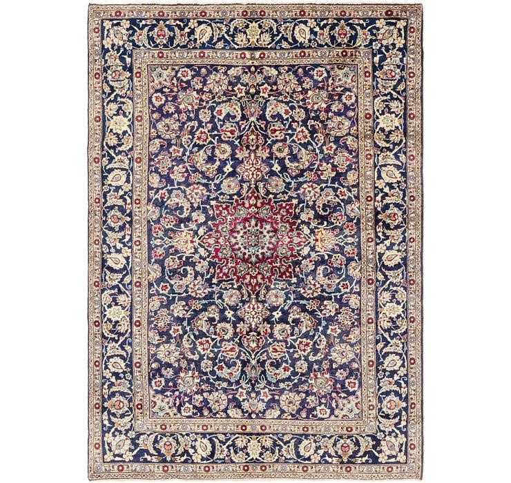 6' 9 x 9' 8 Isfahan Persian Rug