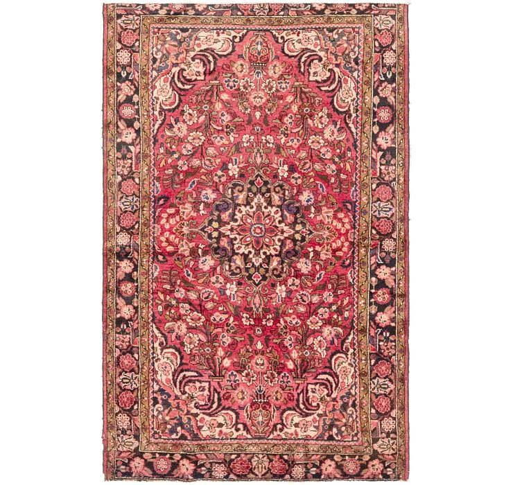 4' 7 x 7' 6 Borchelu Persian Rug