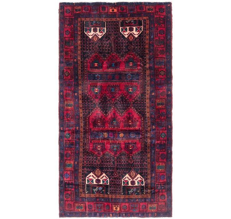 5' 6 x 10' 6 Sirjan Persian Runner Rug