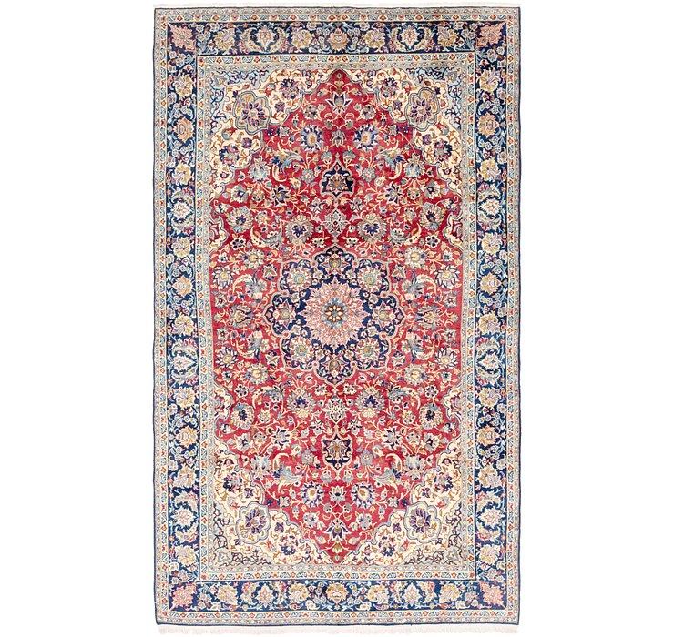 6' 9 x 11' 9 Isfahan Persian Rug