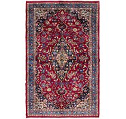 Link to 4' x 6' 6 Mashad Persian Rug