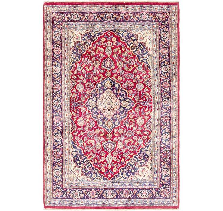 6' 2 x 9' 7 Mashad Persian Rug