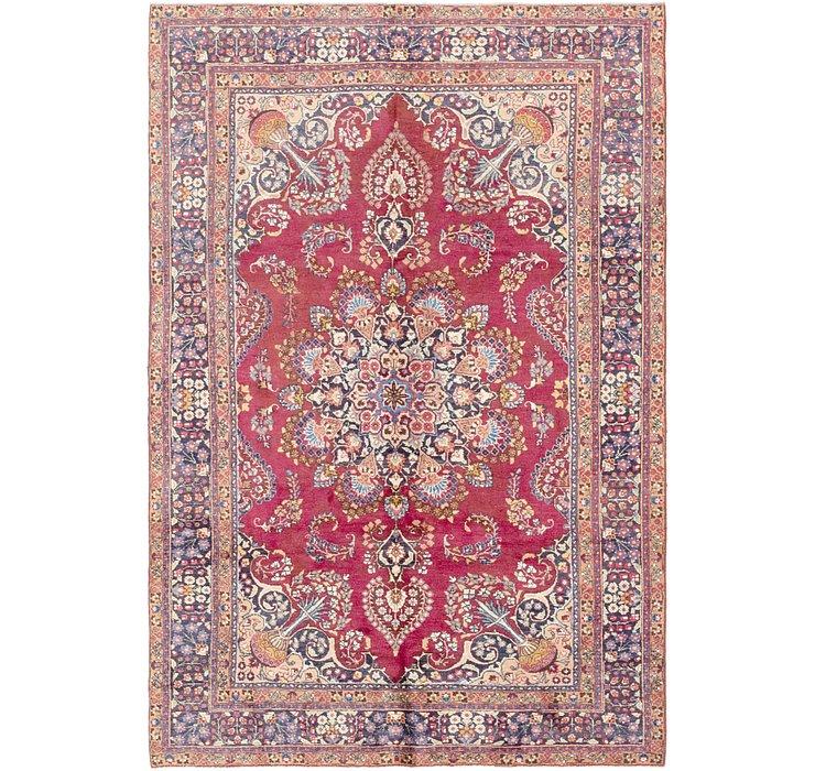 6' 2 x 9' 4 Mashad Persian Rug