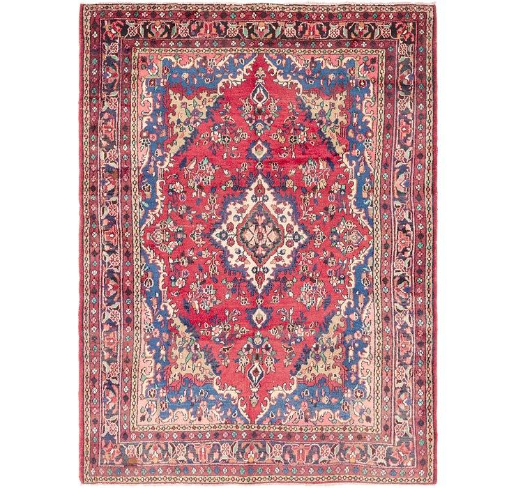 7' x 9' 4 Hamedan Persian Rug