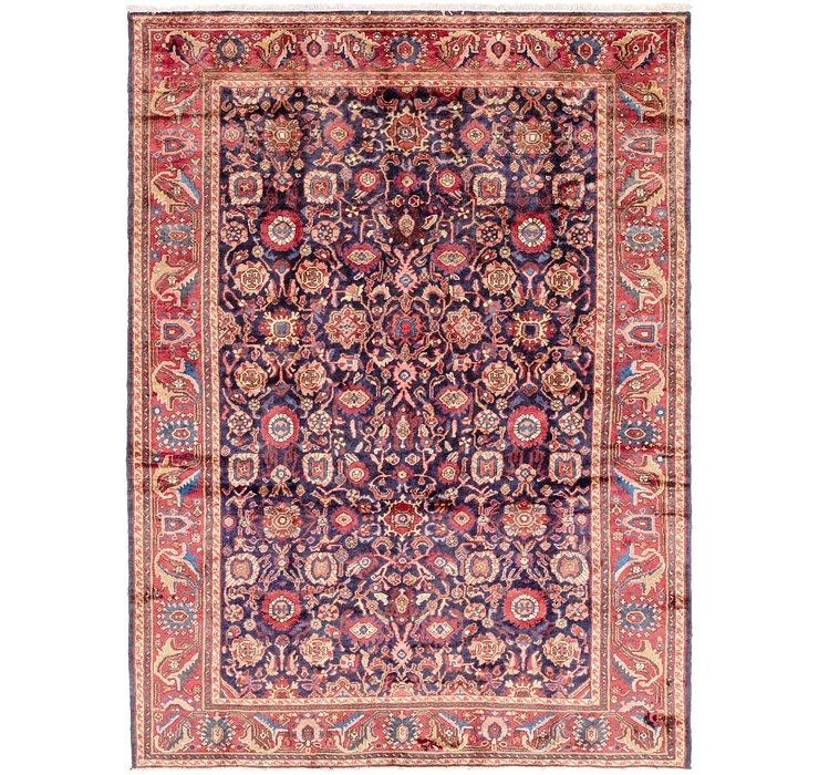 7' 3 x 10' Hamedan Persian Rug