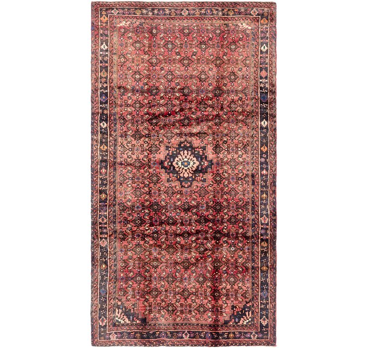 5' 2 x 9' 9 Hossainabad Persian Rug