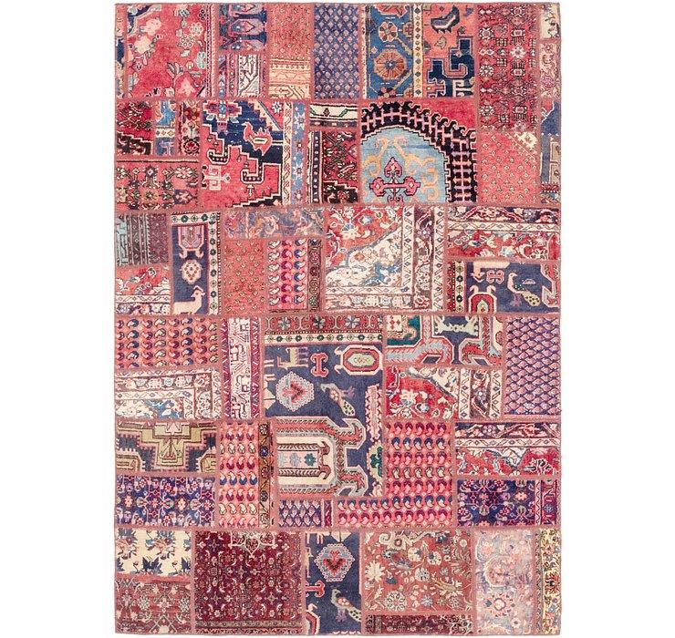 193cm x 270cm Ultra Vintage Persian Rug