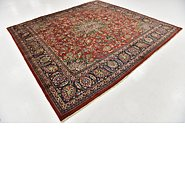 Link to 9' 2 x 9' 8 Kashmar Persian Square Rug