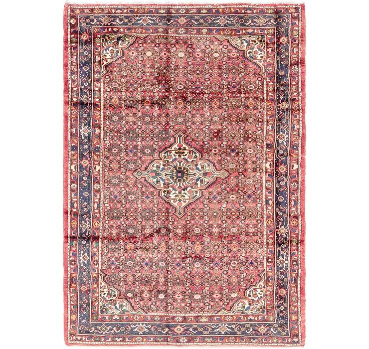 7' x 9' 10 Hossainabad Persian Rug