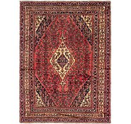 Link to 7' 4 x 10' Hossainabad Persian Rug