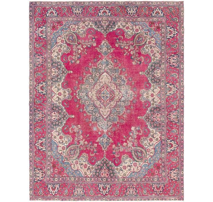 9' 8 x 12' 4 Tabriz Persian Rug