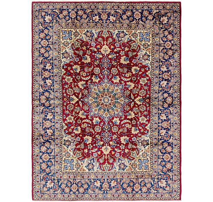 10' 2 x 13' 5 Isfahan Persian Rug