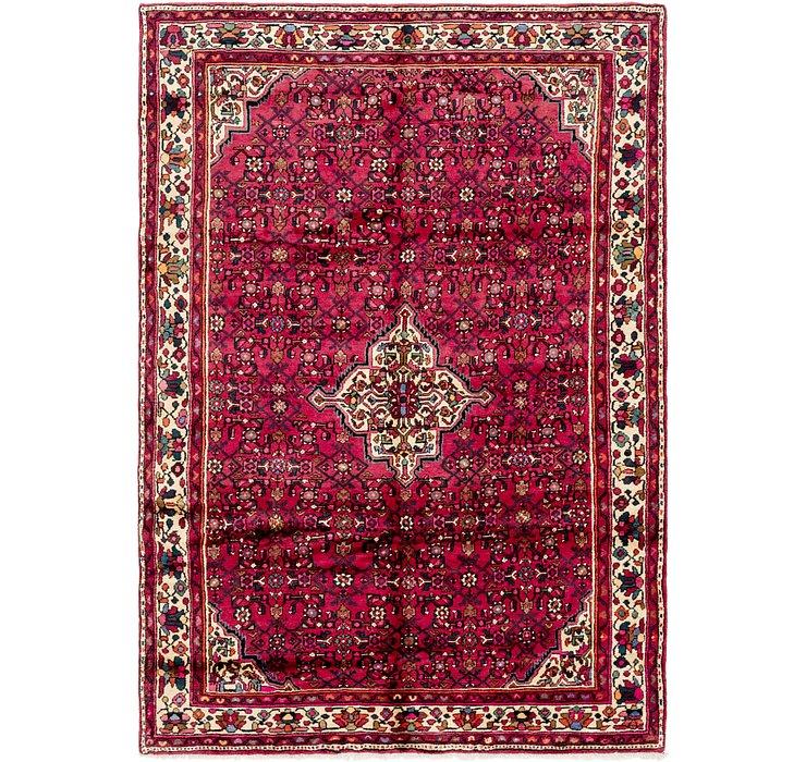 205cm x 290cm Hossainabad Persian Rug