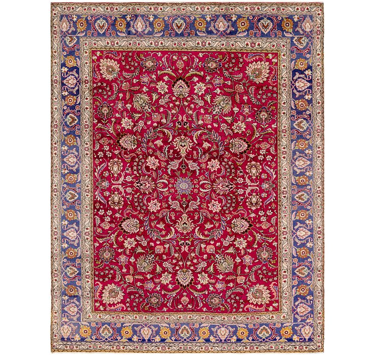 9' 9 x 12' 9 Tabriz Persian Rug