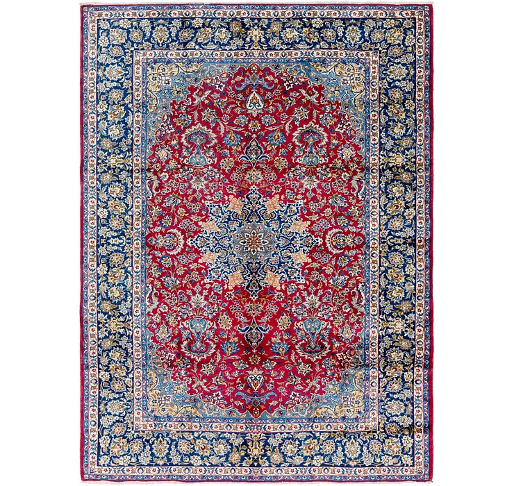 9' 7 x 13' 3 Isfahan Persian Rug