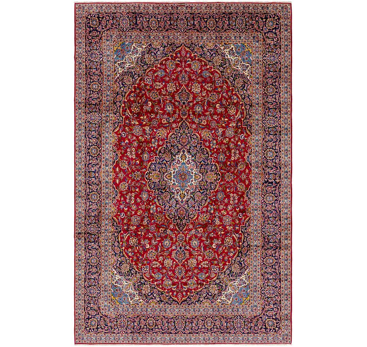 9' 9 x 16' Kashan Persian Rug