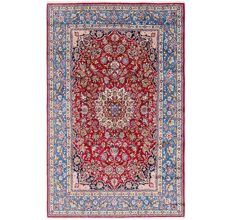 HandKnotted 8' 9 x 13' 10 Isfahan Persian Rug