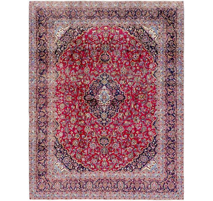 HandKnotted 9' 8 x 12' 5 Mashad Persian Rug