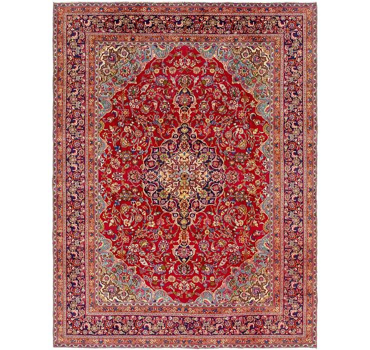 HandKnotted 9' 8 x 12' 6 Mashad Persian Rug